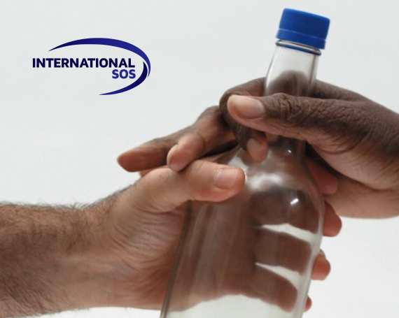 InternationalSOS – Bottle of Help