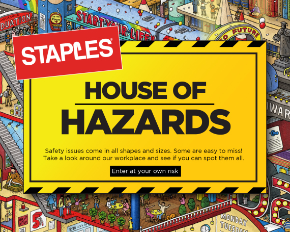 Staples – House of Hazards