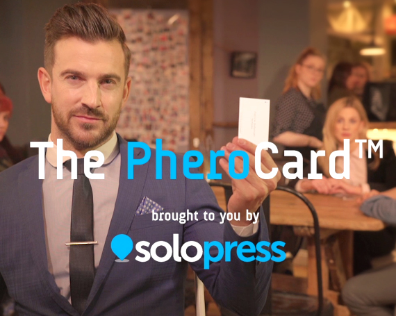 Solopress – The PheroCard